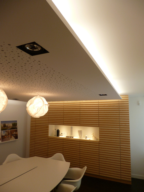 Plafond decoratif top dcoration salon model faux plafond - Plafond decoratif ...